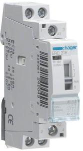 Hager Relay 25a 1no+1nc 12v~50hz ERL218