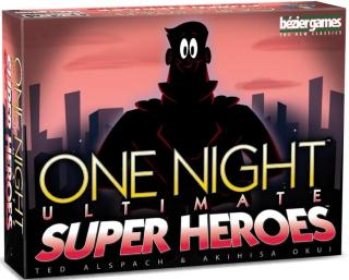 One Night Ultimate Super Heroes Brettspill