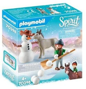 Playmobil 70398, Snips with snowman
