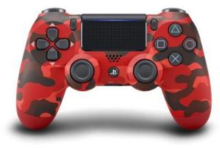 Sony Dualshock 4 Controller v2 - Red Camouflage Red Camouflage  AM23XQ