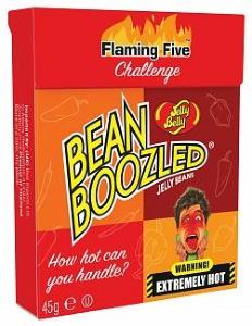 Jelly Belly Bean Boozled Flaming Five 45 gram