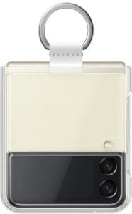 SAMSUNG GALAXY Z FLIP3 CLEAR COVER MED RING