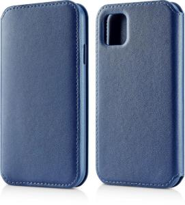 Andersson Leather Flip Wallet Blue for Apple iPhone 11