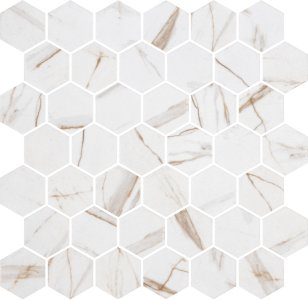 Right Price Tiles Hex XL Calacatta Gold