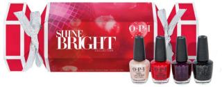 OPI Holiday Shine Bright Collection Mini Nail Lacquer 4-pack