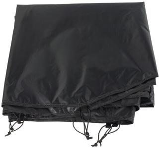 Urberg Footprint 3-Person Dome Tent, Black, OneSize