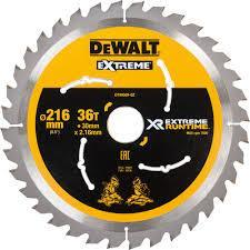 Sagblad for tre DeWalt DT99569-QZ 216x30 mm Z36