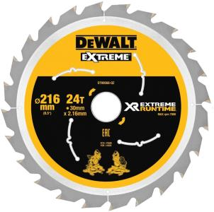Sagblad for tre DeWalt DT99568-QZ 216x30 mm Z24