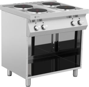 Royal Catering Kokeplate - 10,400 W - 4 plater - underdel