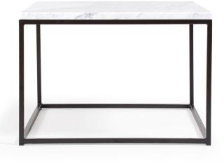 Decotique Marvelous Air Marmorbord 60x60 cm, Carrara/Sort