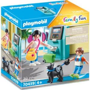 PLAYMOBIL ® Family Fun Holidaymaker with cash dispenser