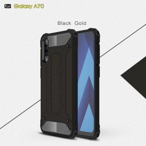 CoreParts Style 1-  A70 Black Cover (MOBX-COVER-A70-STYLE1)
