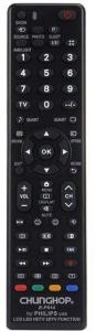 Fjernkontroll for Philips LED-Tv /  LCD Tv - Universal