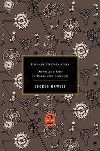 Homage to Catalonia / Down and Out in Paris and London Orwell George Innbundet