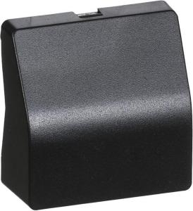 LK Fuga cover for stove outlet 1 module charcoil grey 500D8512