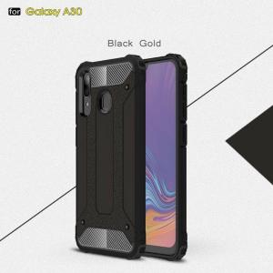CoreParts Style 1-  A20/A30 Black Cover (MOBX-COVER-A20-STYLE1)